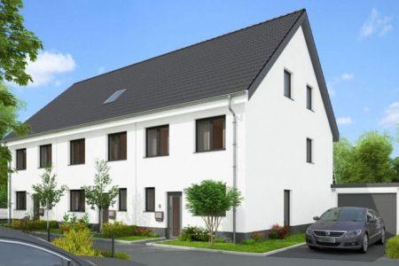Haus mit Satteldach